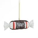 "Load image into Gallery viewer, 1"" Candy Lane Tootsie Roll Original Chewy Chocolate Candy Christmas Ornament"