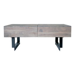 Industrial Tiburon Tv Entertainment Coffee Table - Buffet Kitchen Helper Table