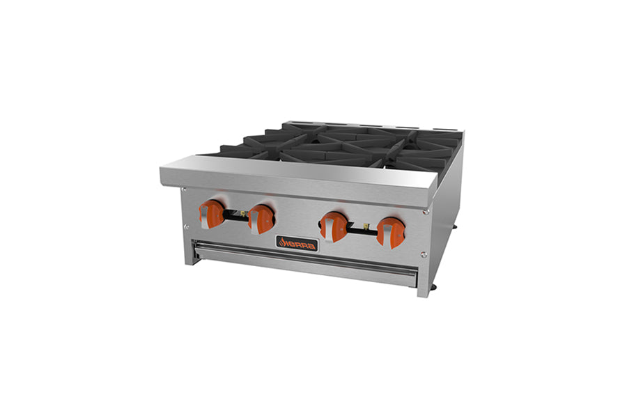 Sierra Hotplate, gas, countertop, 12