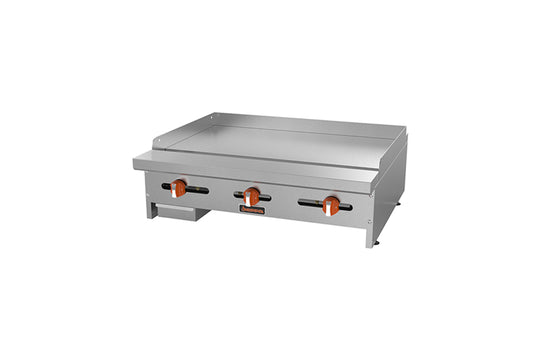 "Sierra Griddle, gas, countertop, 48""W, (4) 23,000 BTU U shaped"