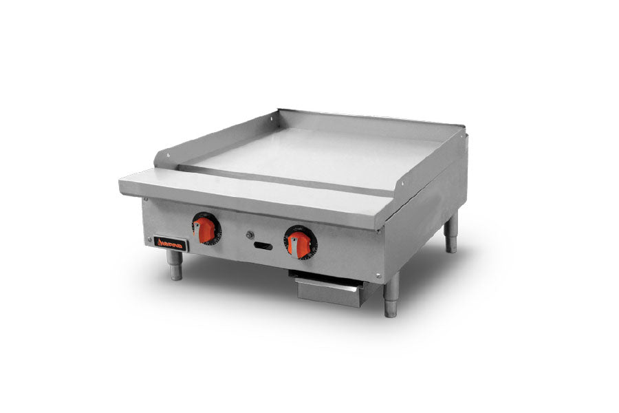 Sierra Griddle, natural gas, countertop, 24
