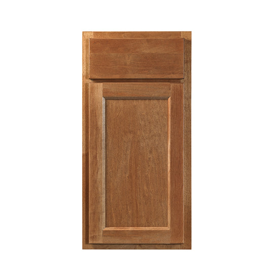 "30"" X 34.5"" X 24"" - 4.5H "" Sierra Nutmeg ( 3 Drawers ) Stain Kitchen Cabinet"