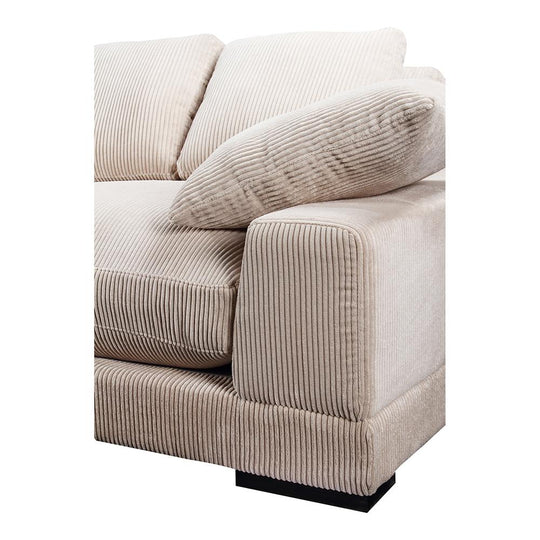 Transitional Plunge Slipper Arm Chair - Comfy Single Sofa Modern Slipper Sectionals