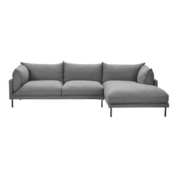 Jamara Sectional Charcoal