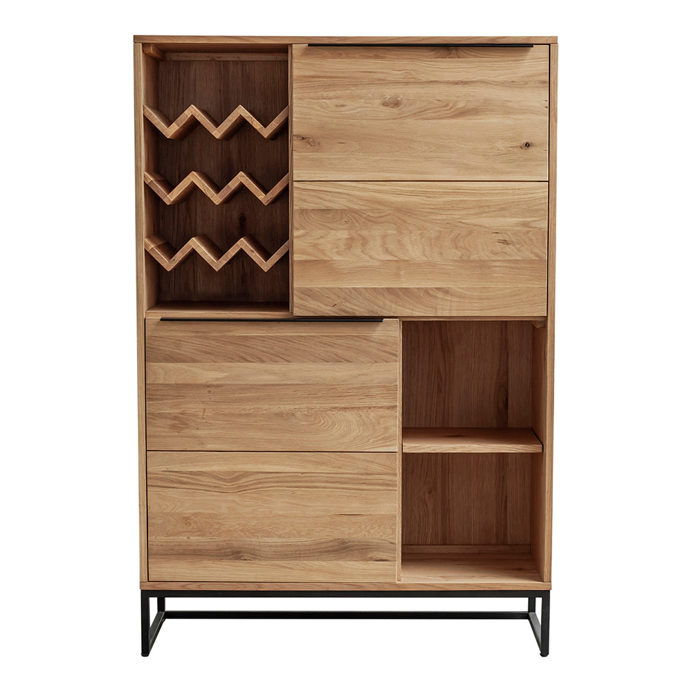 Contemporary Modern Nevada Bar Buffet & Sideboard Cabinet - Accent Cabinet