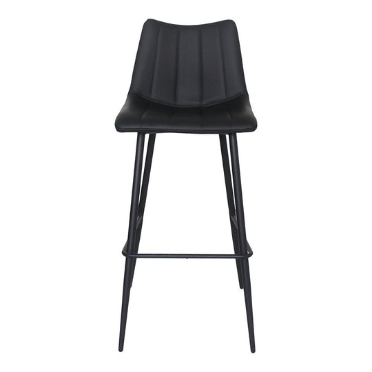 Contemporary Modern Alibi Bar & Counter Stool - Bar Stools With Back