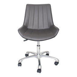 27x22x31 Inch -Executive Mack Office Desk Chair with Ribbed Puresoft Upholstery - Modern Style