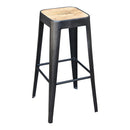 Load image into Gallery viewer, Mid - Century Modern Bistro High Counter Stool - Counter Height Bar Stools