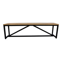 Colvin Bench, Transitional, Brown