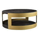 Load image into Gallery viewer, Contemporary Style April Coffee Table - Solid Wood Round Cocktail Table