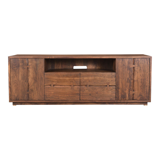 Rustic Madagascar Wooden Media Stand - Tv Console Table - Tv Unit - Tv Stand