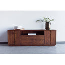 Load image into Gallery viewer, Rustic Madagascar Wooden Media Stand - Tv Console Table - Tv Unit - Tv Stand