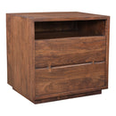 Load image into Gallery viewer, Madasagar Wood Square Side Accent Living Room Small End Table - Side Table For Bedroom