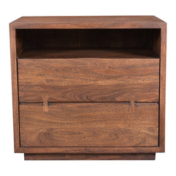 Madasagar Wood Square Side Accent Living Room Small End Table - Side Table For Bedroom