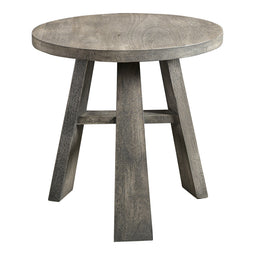 Jax Side Table, Grey, Contemporary Modern