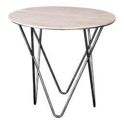 Joplin End Table, Brown, Contemporary Modern
