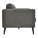 Load image into Gallery viewer, Cortado Linen Sofa Grey, Grey, Contemporary Modern