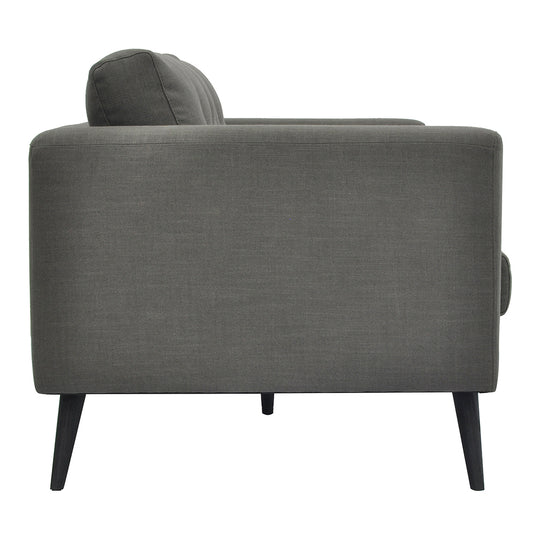 Cortado Linen Sofa Grey, Grey, Contemporary Modern
