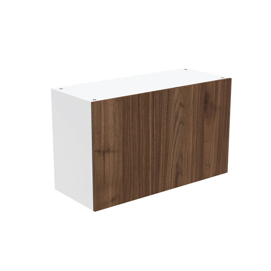 "Walnut Wall Single Lift Cabinet - 30""W X 18""H"