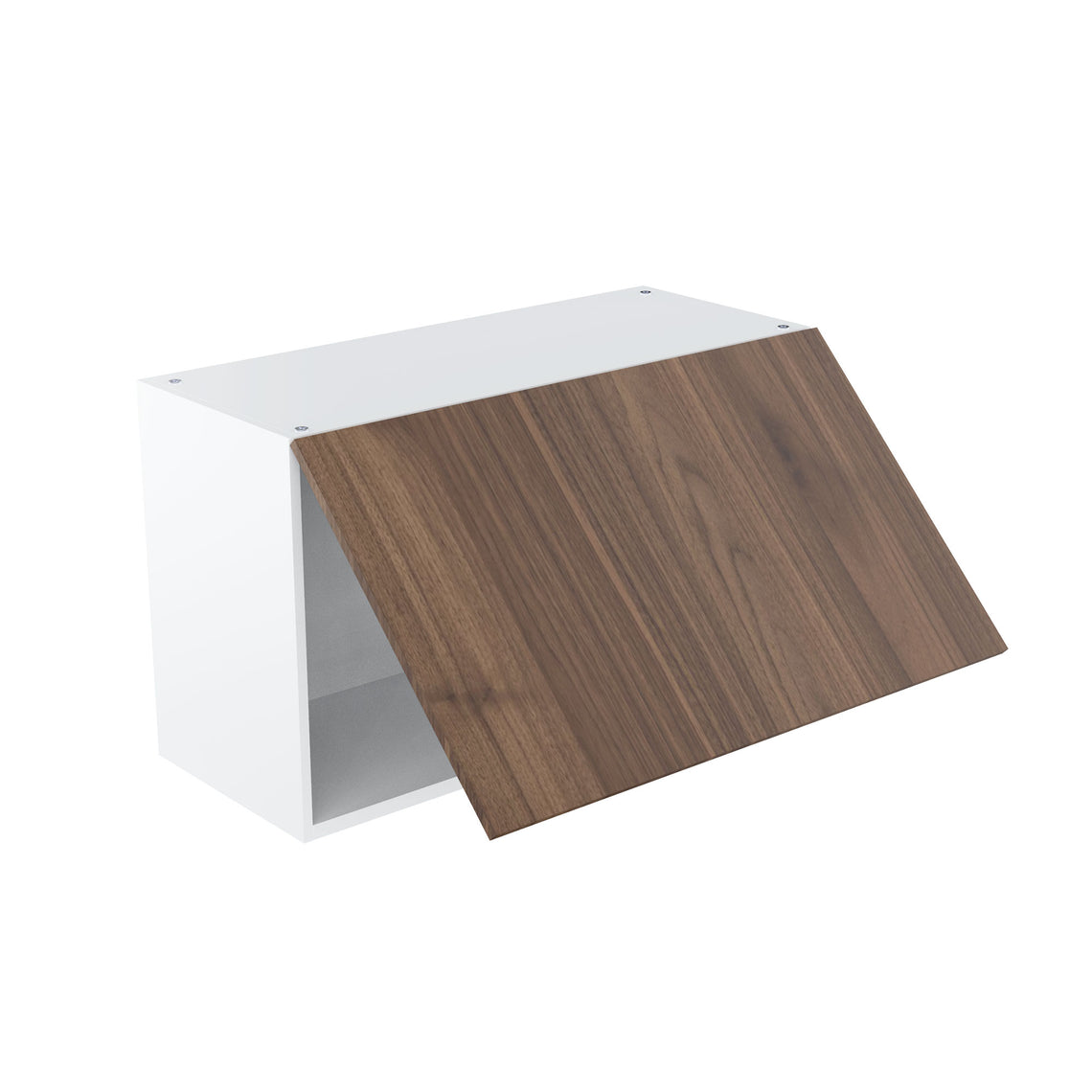 Walnut Wall Single Lift Cabinet - 30