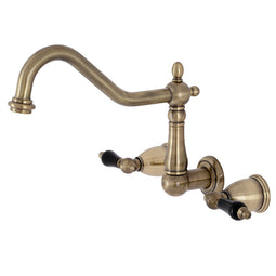 Duchess Three Hole Wall Mount Kitchen Faucet