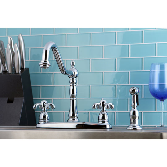 French Country Centerset Kitchen Faucet
