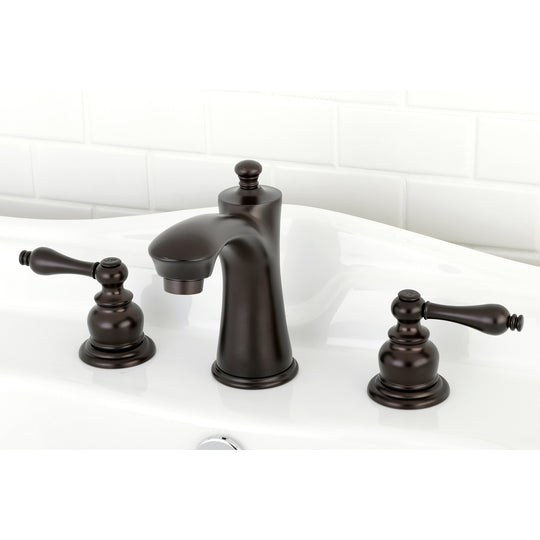 "Victorian 8 "" Widespread Bathroom Faucet In 5.3 "" Spout Height"
