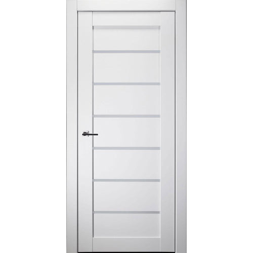 Alba Interior Door in Bianco Noble Finish