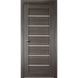 Alba Interior Door in Gray Oak Finish