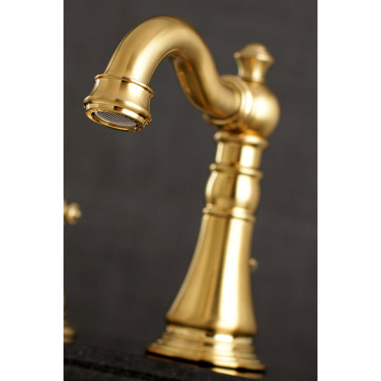 Fauceture English Classic Widespread Bathroom Faucet