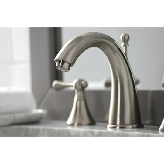 English Country Widespread 8 Inch Bathroom Faucet