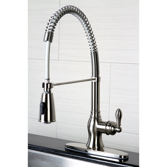 Gourmetier American Classic Single Handle Pre Rinse Kitchen Faucet