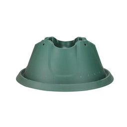 Heavy Duty Green Easy Watering Christmas Tree Stand - For Live Trees Up To 10'