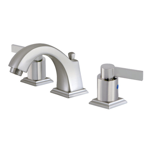NuvoFusion 1.2 GPM Widespread Bathroom Faucet With Pop Up Drain Assembly