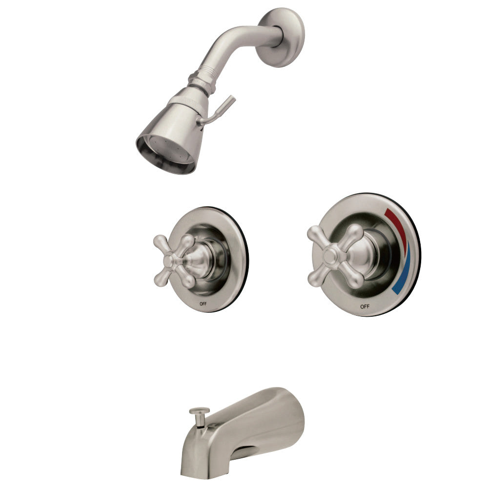 Water Saving Vintage Tub & Shower Faucet With Pressure Balanced Valve