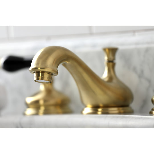 Duchess Widespread Traditional Bathroom Faucet with Brass Pop-Up