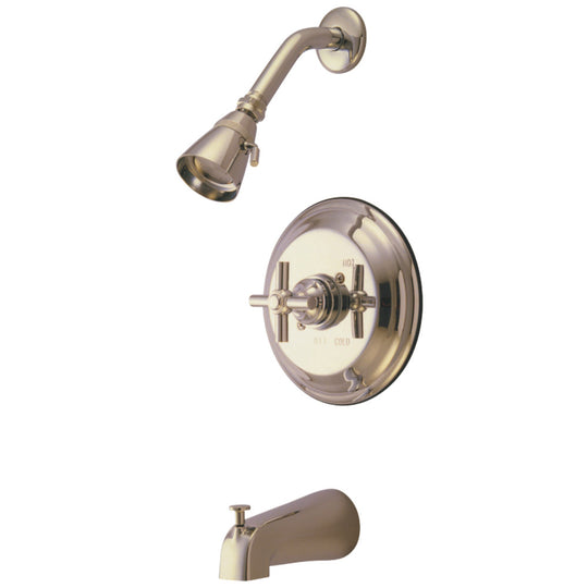 Tub & Shower Faucet Comes W/ 5 Diverter Tub Spout