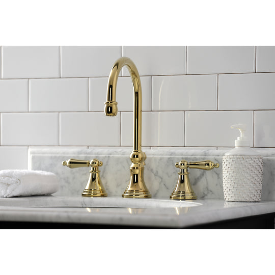 "Governor 8 "" Widespread Bathroom Faucet In 6.5 "" Spout Reach"