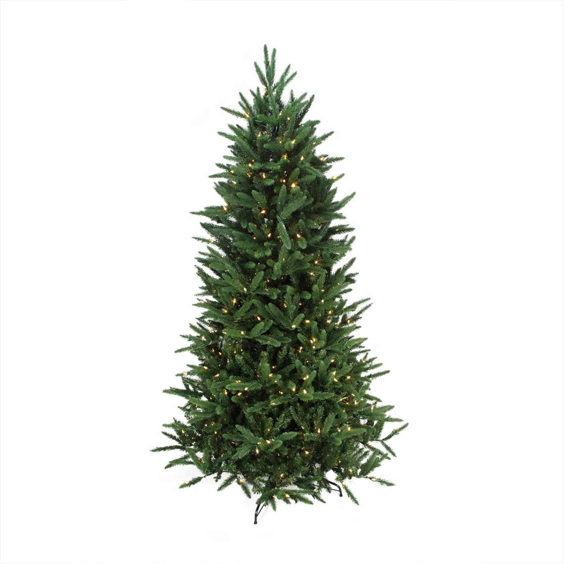 9' Pre-Lit PE/PVC Mixed Pine Multi-Function Artificial Christmas Tree- w/ Remote Control -Clear/Multi