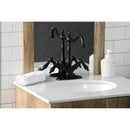 Load image into Gallery viewer, Duchess Two Handle Bathroom Faucet With Brass Pop Up & Cover Plate