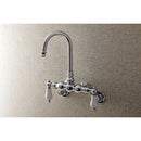 Load image into Gallery viewer, Aqua Vintage Adjustable Center Wall Mount Tub Faucet