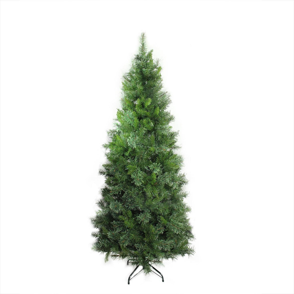 6.5' Mixed Cashmere Pine Medium Artificial Christmas Tree - Unlit