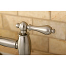 "Load image into Gallery viewer, Restoration Bridge Kitchen Faucet With Brass Sprayer In 8.5 "" Spout Height"