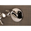 Load image into Gallery viewer, Essex Two Handle Wall Mount Bathroom Faucet W/ Two Hole Installation