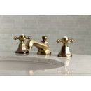 "Load image into Gallery viewer, Metropolitan 8 "" Widespread Bathroom Faucet With Brass Pop-Up"