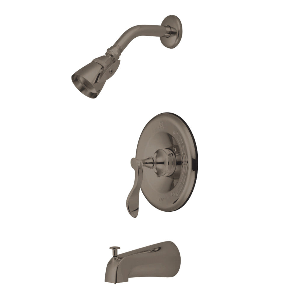 Century Tub & Shower Faucet With 5