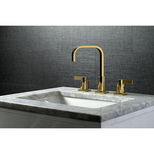 NuvoFusion Widespread Modern Bathroom Faucet