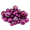 Load image into Gallery viewer, Matte And Glitter Shatterproof Christmas Ball Ornaments 2.4""