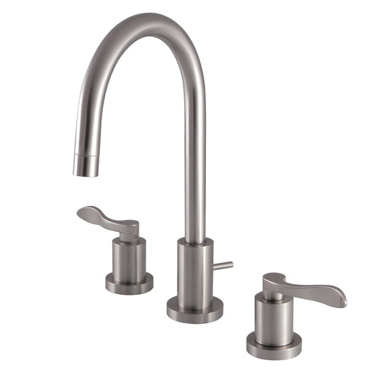 Mini-Widespread Modern Bathroom Faucet