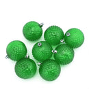 Load image into Gallery viewer, Transparent Diamond Cut Shatterproof Christmas Ball Ornaments In 2.5""